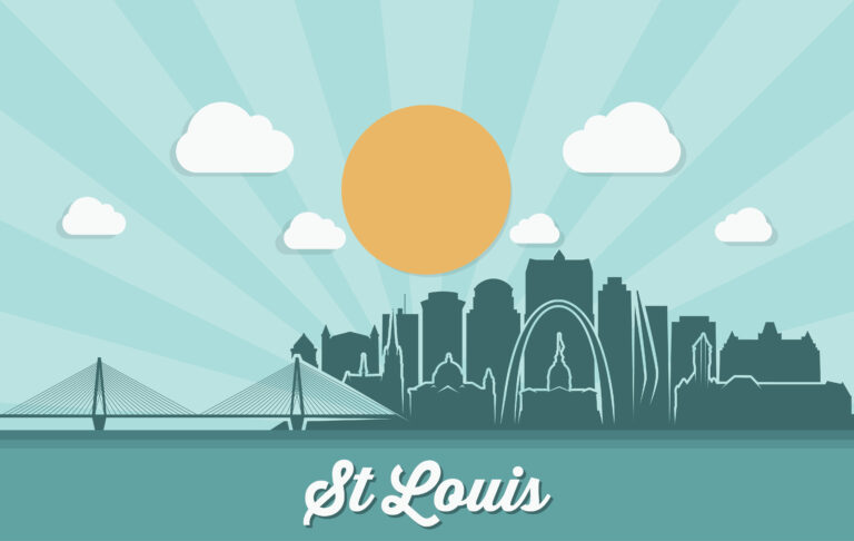 st louis answering city outline jpg